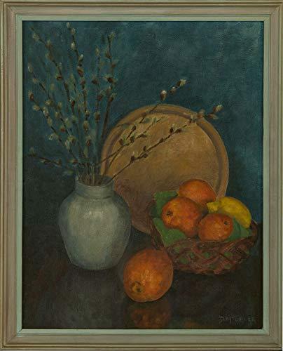 D.M. Turner - Framed 20th Century Oil, Still Life, Apples and Lemons 20th Century Still Life
