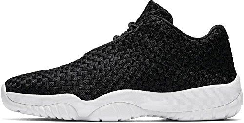 Jordan Nike Men's Air Future Low Black/White Casual Shoe 10.5 Men US (Best Air Jordan Shoes)