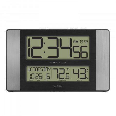 Lacrosse Atomic Digital Wall Clock