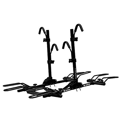 Nashbar Shadow 4-Bike Hitch Rack