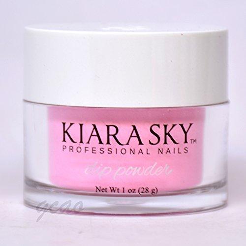 Kiara Sky Dip Powder, Pink Powderpuff, 1 Ounce