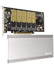 5 Slot M.2 B-Key Sata Base PCI-E 3.0 X2 Bandwidth Controller Card Require X16 Slot