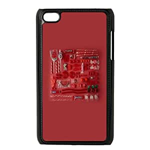 iPod Touch 4 Case Black Color 77 SLI_575878