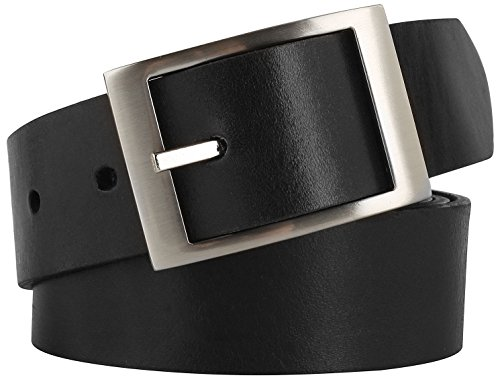 - Men's Casual Full Grain Classic Leather Dress Belt For Jeans,1.25