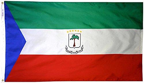 Equatorial Guinea - 2' x 3' Nylon World Flag