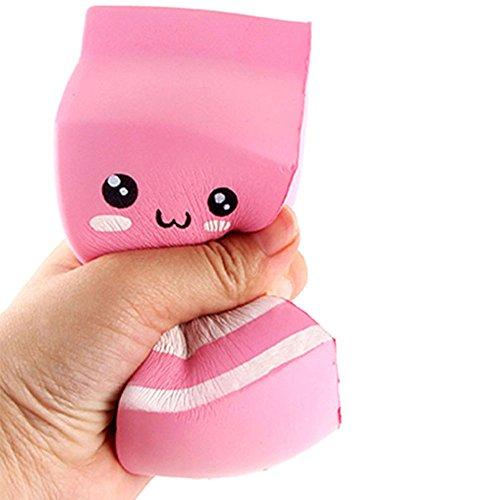 Squishy Toy | Stress Relief Toys | Slow Rising Squishy Toys for Boys | Soft Scented Milk Carton Squishies | Children Gifts Kids Toys - Non-Toxic 1PC (Multicolor) ()