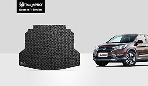 ToughPRO Honda CR-V Cargo Mat – All Weather – Heavy Duty – Black Rubber – (2012-2016)