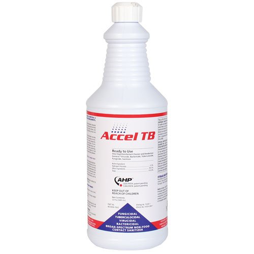 Accel Disinfectant TB Liquid Ready to Use 32oz, My Pet Supplies