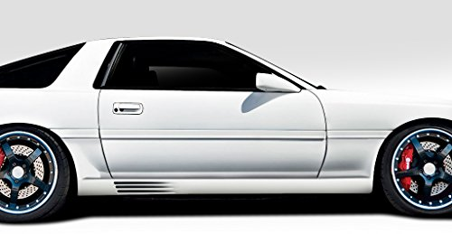 Duraflex ED-JIF-127 Spec R Side Skirt Rocker Panels - 2 Piece Body Kit - Compatible For Toyota Supra 1986-1992