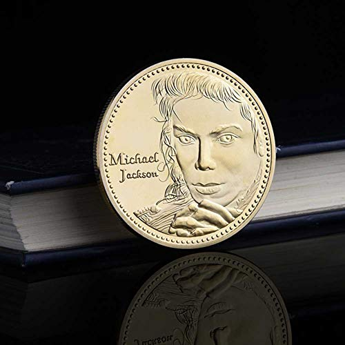 (Lymhy Pop Singer Michael Jackson MJ Gold-Plated Commemorative)