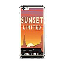 Vintage poster - Sunset Limited 0167 - iPhone 5/5s/SE Phone Case