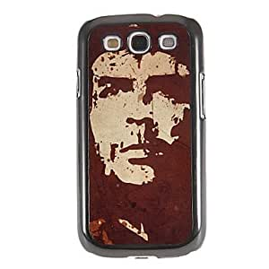 Conseguir Patrón Guevara Espejo Liso nuevo caso duro con la película de alta definición de pantalla 3 piezas para Samsung Galaxy S3 I9300