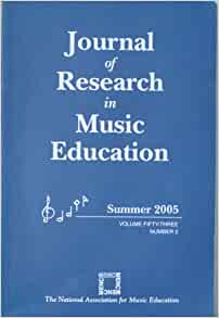 Journal of Research in Music Education: Learning to