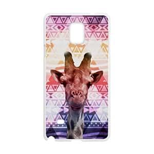 Aztec Giraffe Plastic Protective Case Slim Fit for SamSung Galaxy Note 4