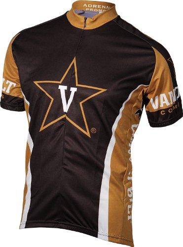 NCAA Vanderbilt Cycling Jersey,Small (black/gold)