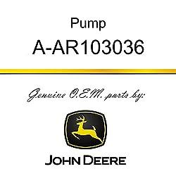 JOHN DEERE TRACTOR HYDRAULIC 8 PISTON PUMP AR10303