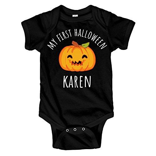 USTON First Halloween Karen: Infant Rabbit Skins Lap Shoulder Creeper ()