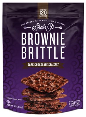 Salt Sea Brownies (Brownie Brittle Dark Chocolate Sea Salt, 5 Ounce)