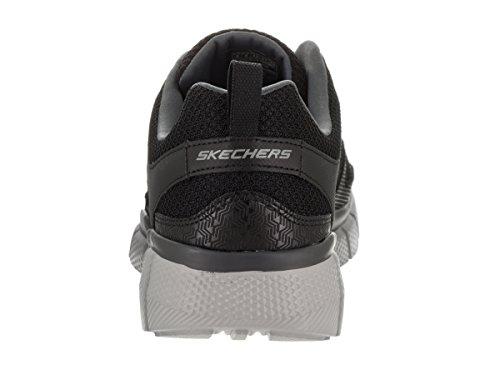 Skechers Hombres Equalizer 2.0 - Zapatillas De Entrenamiento Track Black / Charcoal