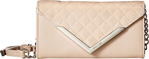 Nine West Women's Full of Sparkle Small Flap Crossbody Cashmere One Size