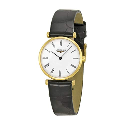 Longines La Grande Classique Yellow Gold PVD Ladies Watch L4.209.2.11.2 ()