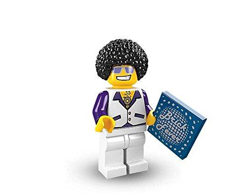 LEGO Minifigures Series 2 Disco Dude COLLECTIBLE Figure bell-bottom pants 70's Song Dance
