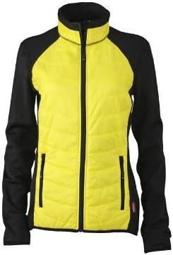 TALLA L. James & Nicholson Jacke Ladies Hybrid Jacket Chaqueta, Mujer