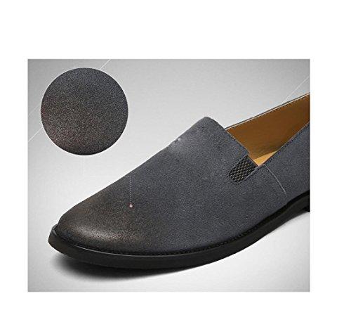 Coton Hommes Lerther Souple Porter Ceinture Boucle De Porter Cérémonie Fond Chaussures Plat Pointy Black Rond Vêtements Jeunesse rH4wrS7nq