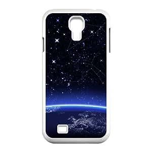 3D Okaycosama Funny Samsung Galaxy S4 Case Space 47 Protector for Girls, Samsung Galaxy S4 Case Cute, [White]