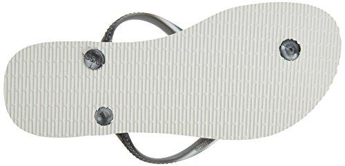 Flip Flops Graphite White UK Nautical 555 Havaianas Slim aHqw4H1