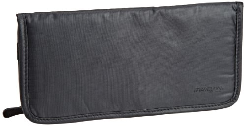 Travelon Luggage Safe Id Wallet, Off Black, One Size