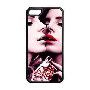 Customiz American Famous Singer Lana Del Rey Back Case for iphone 5C JN5C-1643