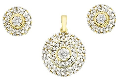 the-jewelbox-nakshatra-flower-gold-plated-pendant-earring-set-for-women
