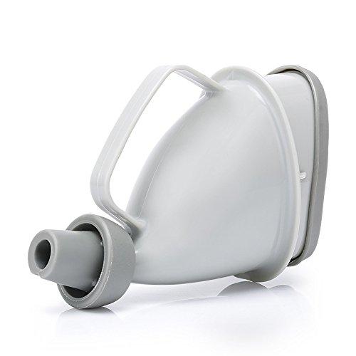 ONEVER 1pc Portable maniglia Viaggi Orinatoio Car Urina bottiglia Orinatoio Imbuto tubo accampamento esterno della minzione dispositivo Stand Up & Pee igienici