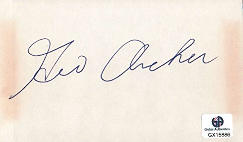 George Archer Signed Autographed Index Card PGA Golf Legend Masters (George Archer Signed)