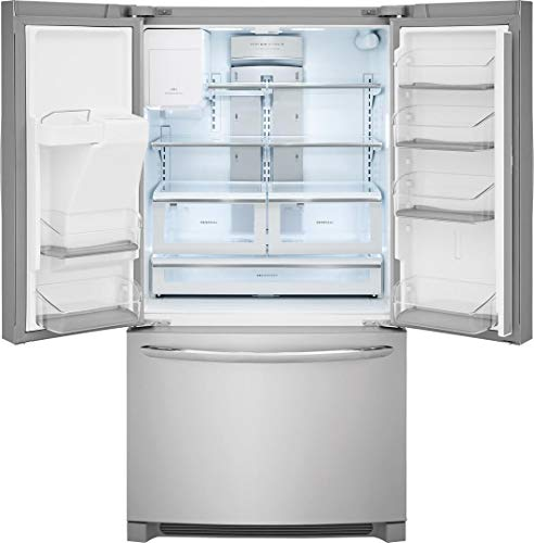 Frigidaire 36 Inch French 21.9 cu. ft. Total Capacity, in Stainless