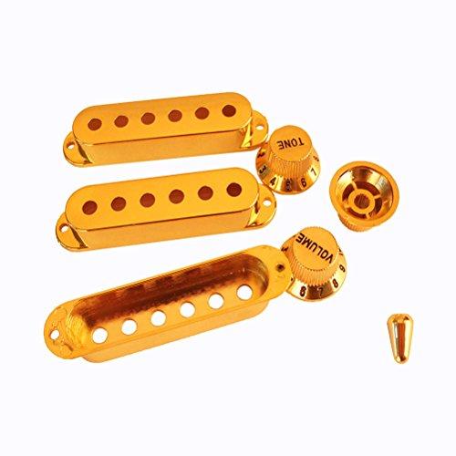 Buy guitar pickup covers gold