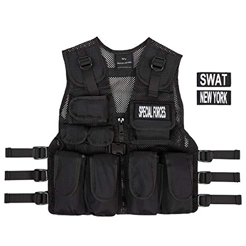 Kids Special Forces Stealth Combat Vest, Swat + Special Forces