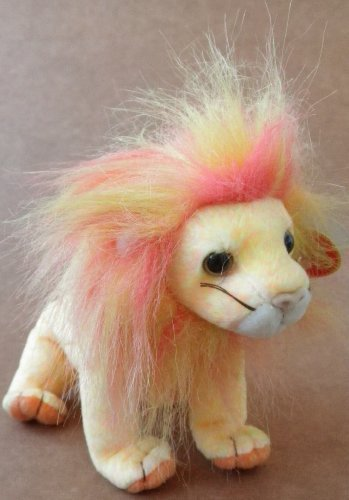 TY Beanie Babies Bushy the Lion Plush Toy Stuffed Animal