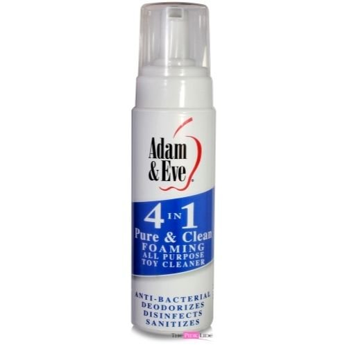 Siam Circus 3 Pack Adam & Eve Pure and Clean Foaming Sex Toy Personal Massager Cleaner 8 Oz by Siam Circus Adults