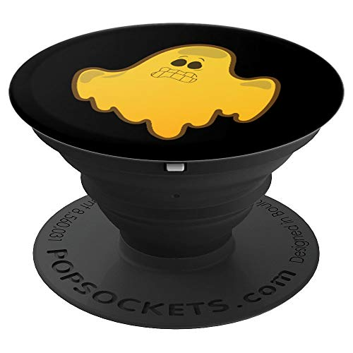 Funny Scared Cute Cartoon Ghost Halloween Costume Grip - PopSockets Grip and Stand for Phones and -