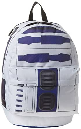 Bioworld Big Boys' Star Wars Suit Up R2D2 Backpack, Multi, One Size