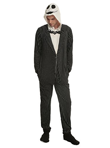 Nightmare Before Christmas Jack Skellington Union Suit Size -