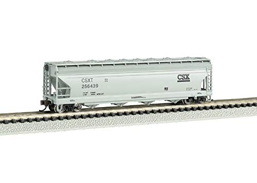 Bachmann Industries ACF CSX 4-Bay Center-Flow Hopper Car (N Scale), ()