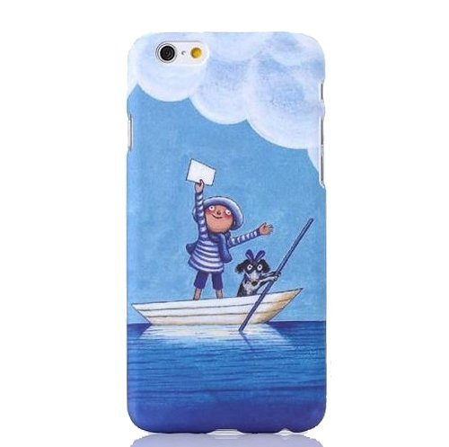 Monkey Cases® iPhone 6 - 4,7 Zoll - Buntes Kunststoff Case for iPhone 6 - Bootstour - Handyhülle - ORIGINAL - NEU/OVP - Matrose