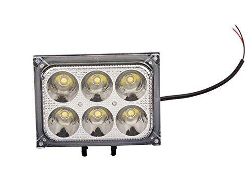 Virgo 6 LED Headlight (18W)