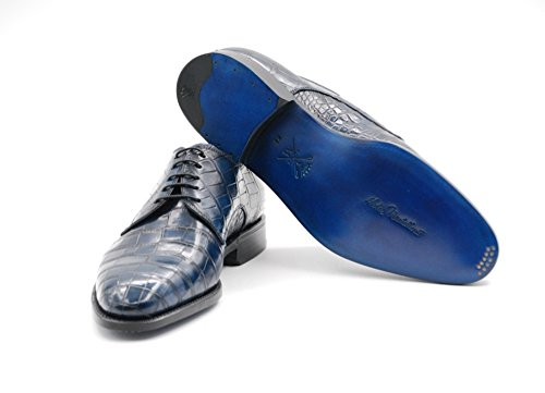 Sutor Mantellassi Lace-blå 459 Krokodilleskind (42,5 Eu)