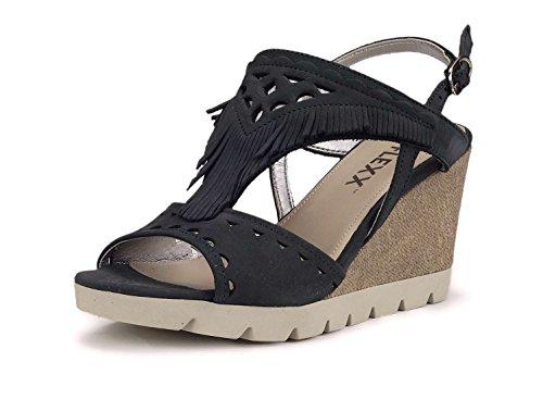 Navy Zapatos B606 Flexx Cuña De Mujer 25 The 39 0tgRwqR