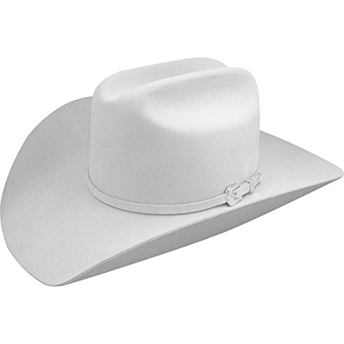 - Resistol Men's 2X Pageant Wool Felt Cowboy Hat White 7 3/8