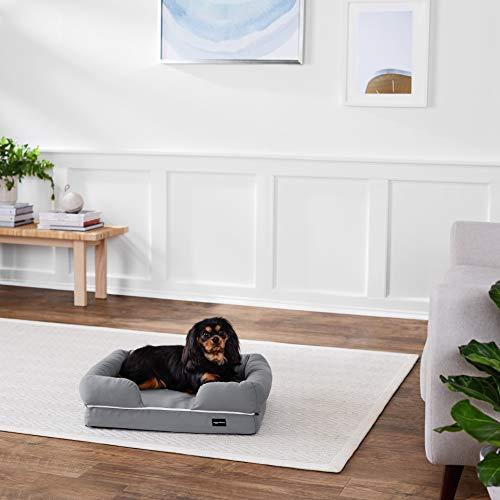 AmazonBasics Pet Sofa Lounger Bed, Small